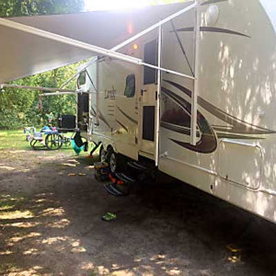 travel trailer awning